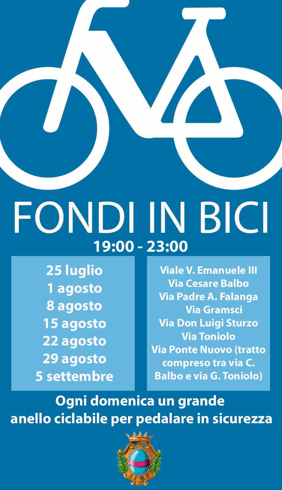 fondi in bici