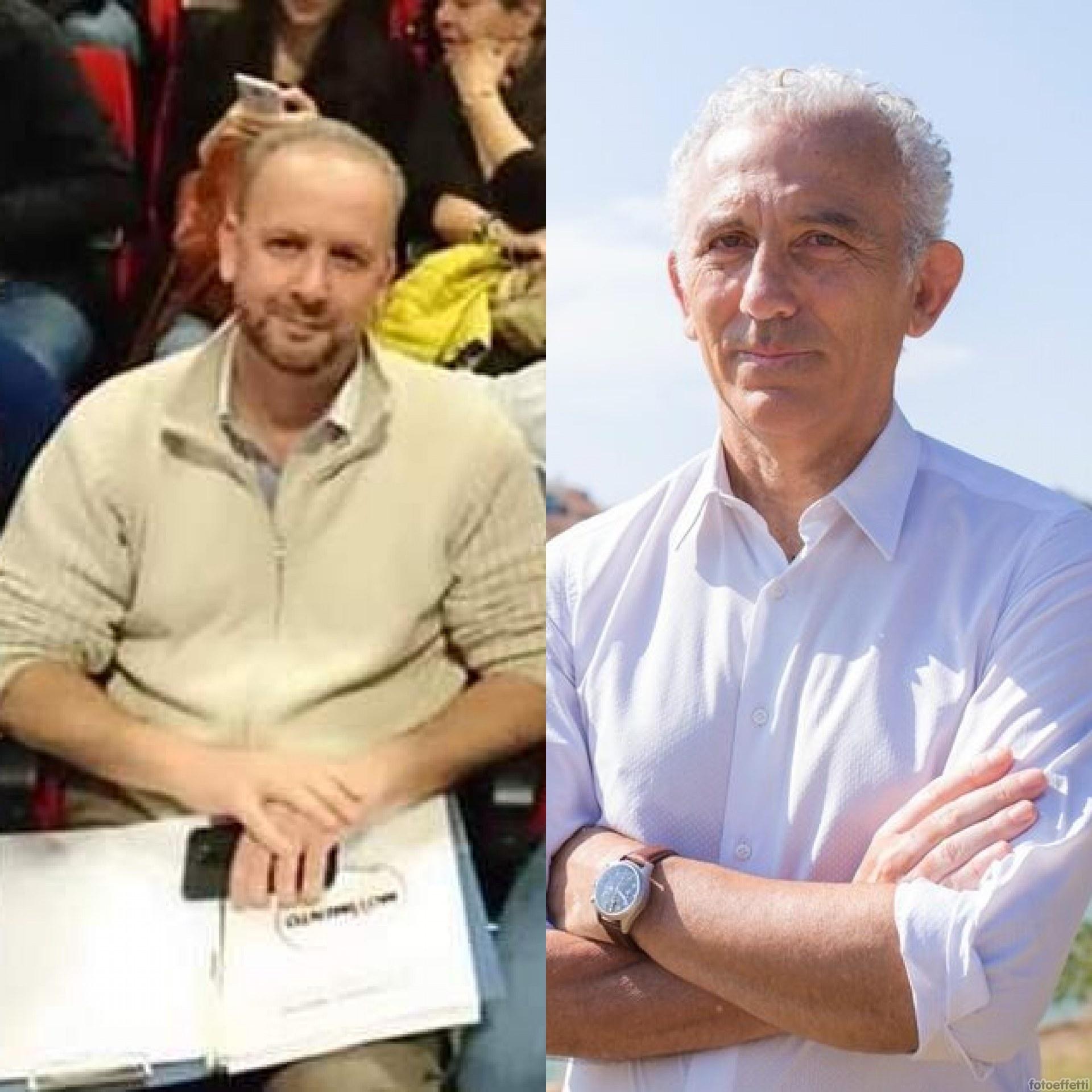 Gianluca Bono e Damiano Coletta