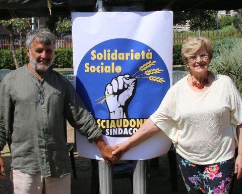 Sergio Sciaudone e Laura Scalabrini