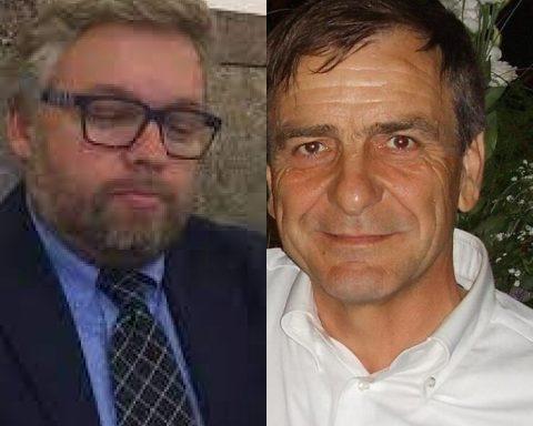 Emiliano Scinicariello e Franco De Angelis