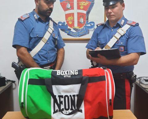 Merce recuperata dai Carabinieri di Ponza