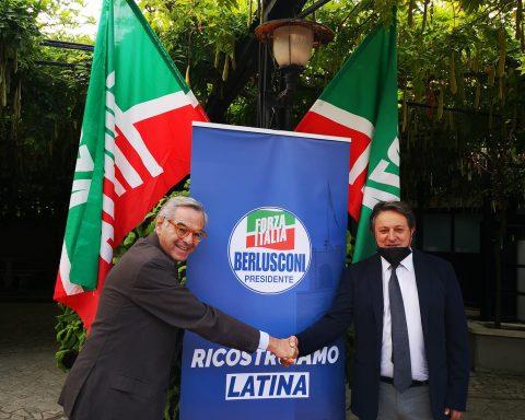 Vincenzo Zaccheo e Claudio Fazzone