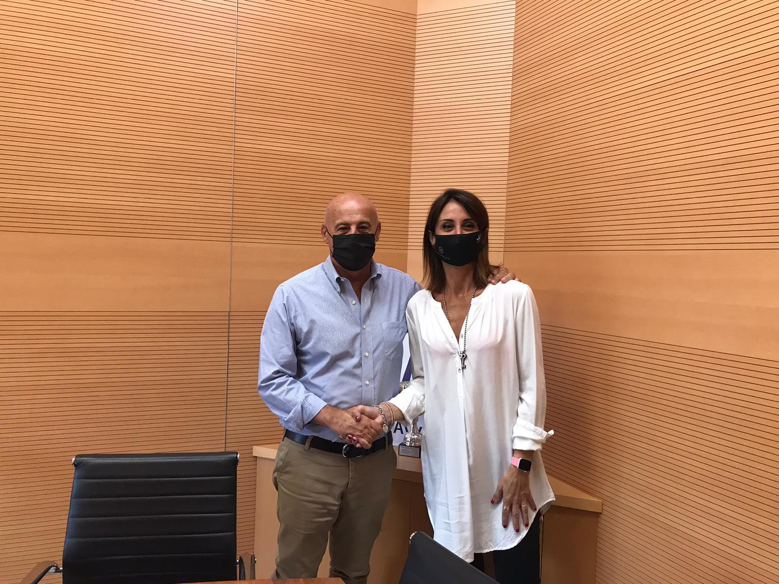 L'incontro tra il Commissario dell'Ordine degli Avvocati Giacomo Mignano e la candidata Sindaco Annalisa Muzio