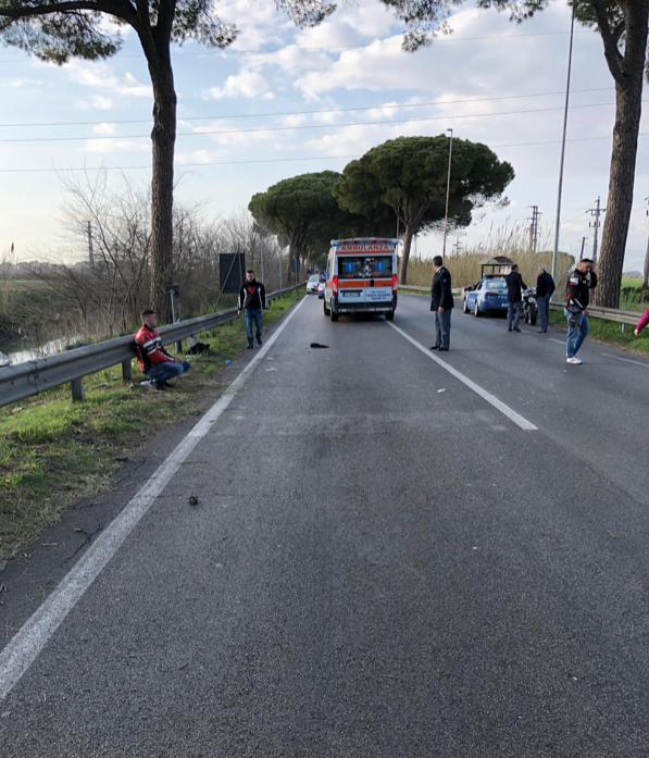 Il luogo dell'incidente avvenuto a marzo 2019