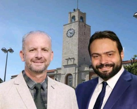 Gianluca Bono e Fabio Massimo Castaldo