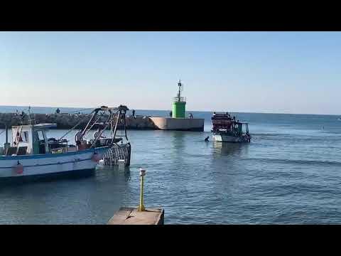 Barche arenate a Rio Martino (immagine di repertorio)